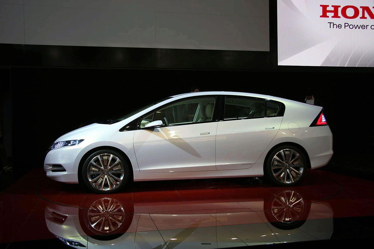LA Auto Show 2008: экологическая система управления Honda Insight