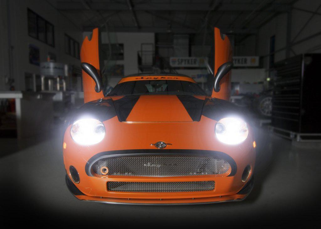 LA Auto Show 2008: Spyker C8 Laviolette LM85 перешел с трека на дорогу