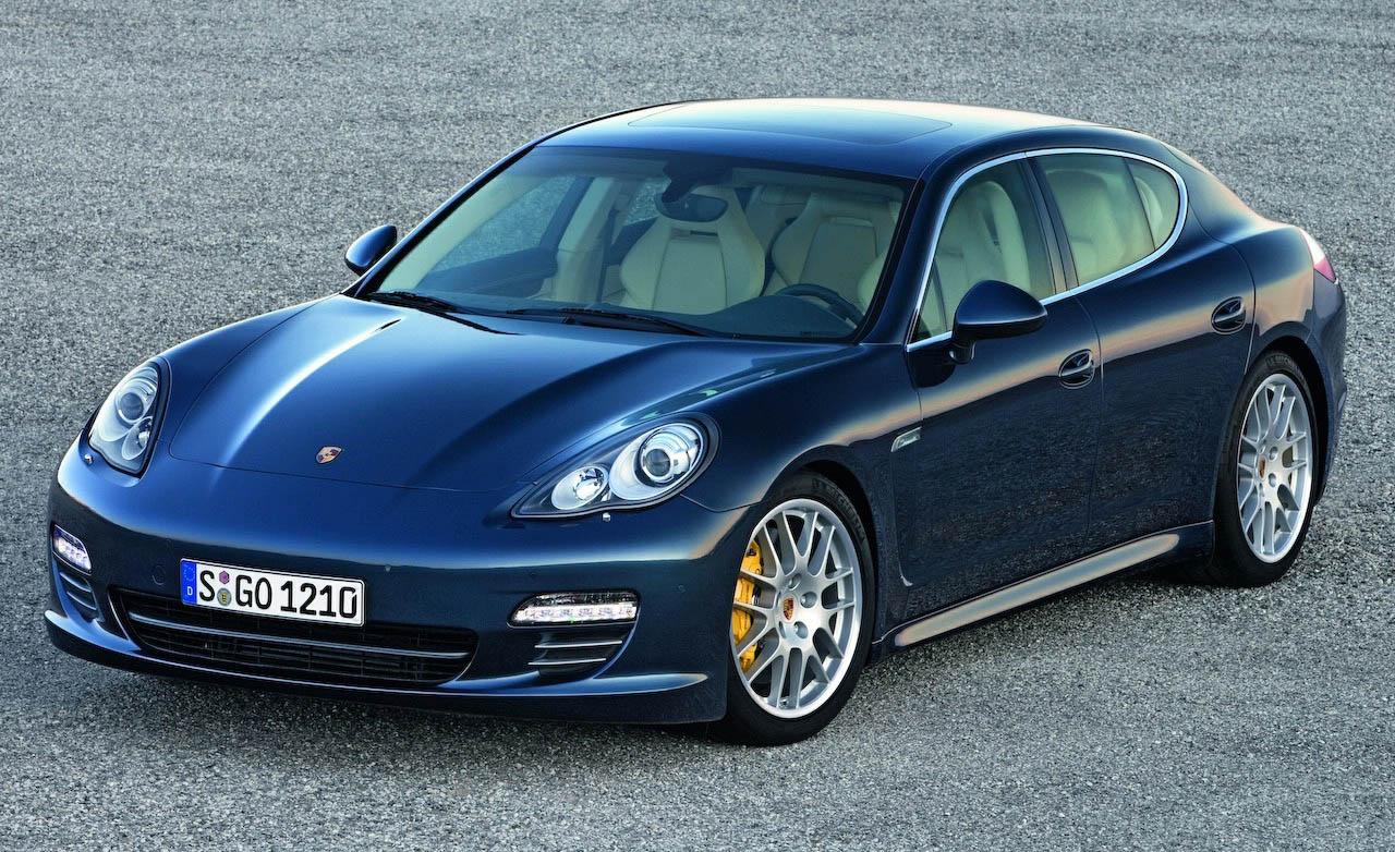 Официальные снимки Porsche Panamera