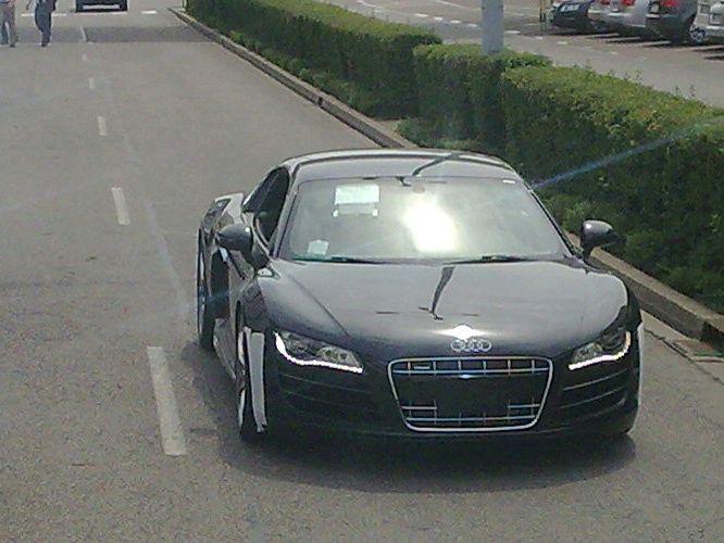 Audi R8 V10 выбирает Детройт