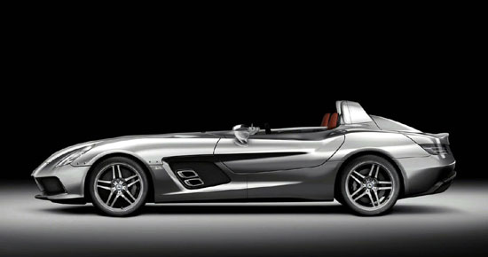 Mercedes-Benz SLR McLaren Strirling Moss: возвращение легенды