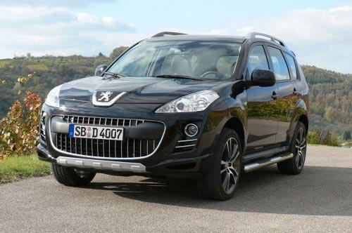 Peugeot выпустил кроссовер 4007 Sport Edition