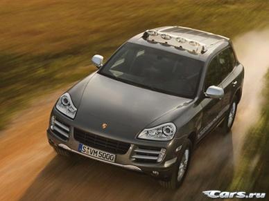 Началось производство дизельного Porsche Cayenne