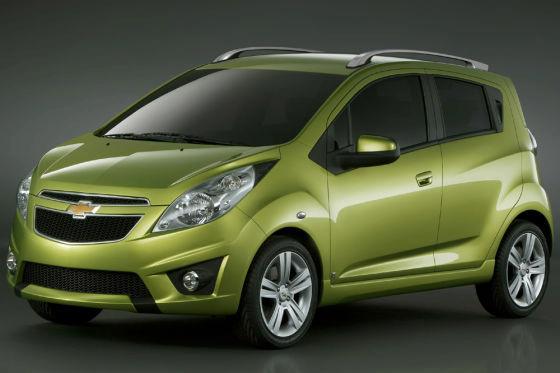 Детройт-2009: концептуальный хэтчбек Chevrolet Spark - новая стратегия GM
