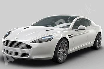 Первые официальные снимки серийного купе Aston Martin Rapide
