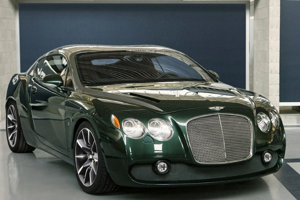 Первый Bentley Zagato GTZ