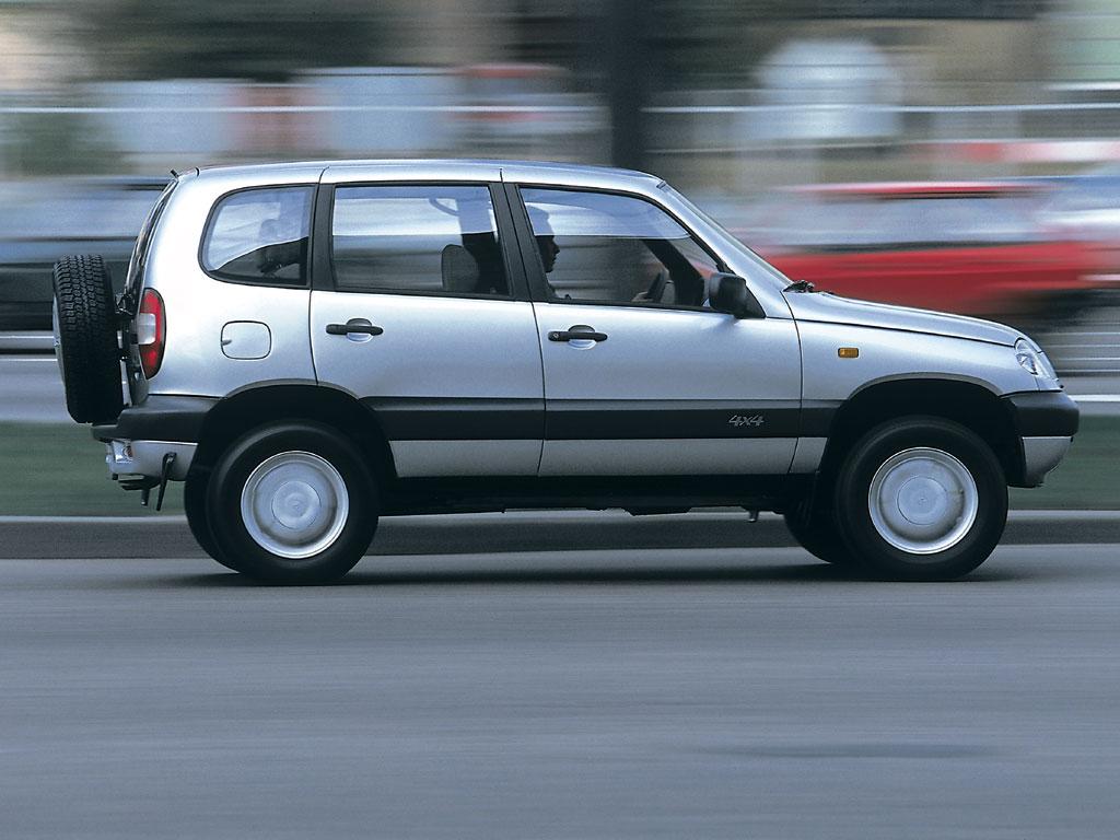 Рестайлинговая Chevrolet Niva