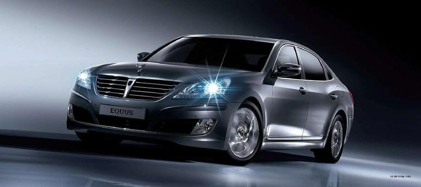 Hyundai Equus бросил вызов Lexus и Mercedes