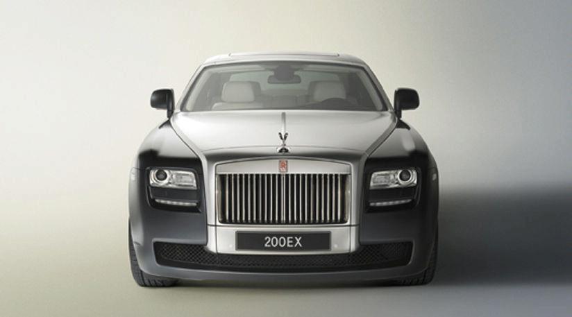 Rolls-Royce  концепт 200EX