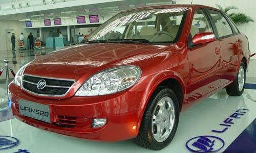 Lifan Breez Китайский автомобиль