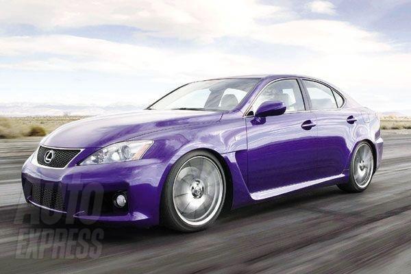 Lexus готовит  вариант модели IS F