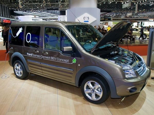 ЖЕНЕВА-2009: Ford Transit Connect