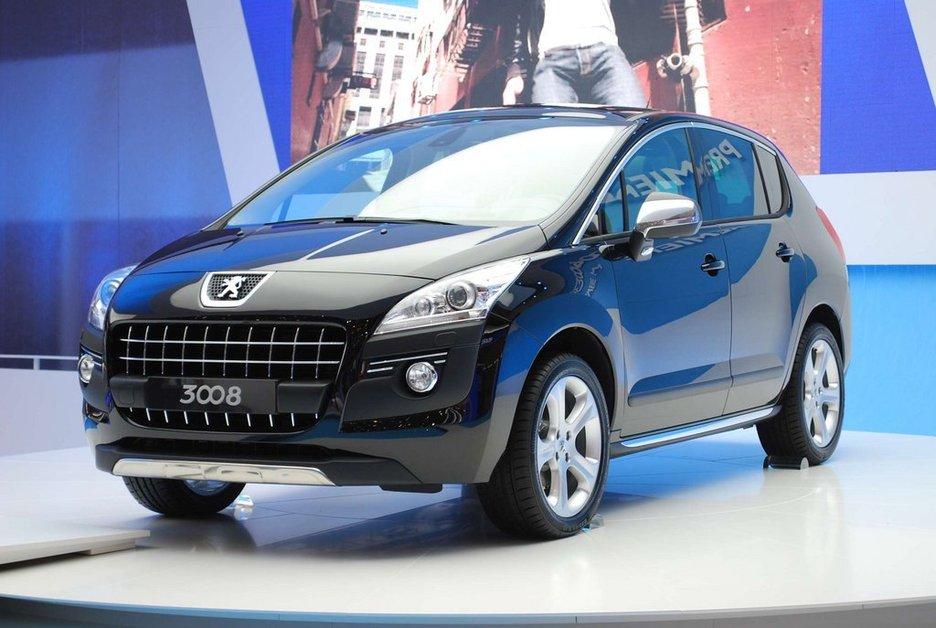 ЖЕНЕВА-2009: Peugeot 3008