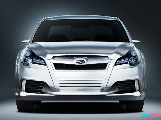 Subaru Legacy-Мировая премьера пятого поколения