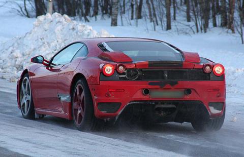 Новый Ferrari F450