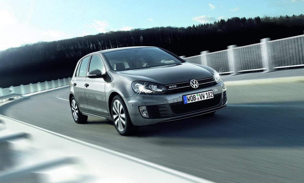 Volkswagen Golf GTD: спортивный дизель