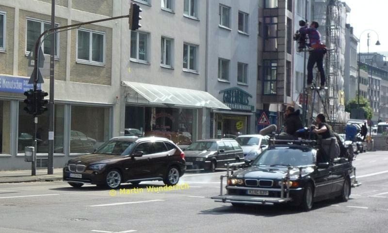 BMW X1 без камуфляжа
