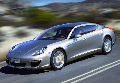 Porsche Panamera в колыбели