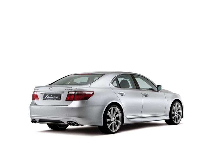 Lexus: От тюнинг отелье Lorinser