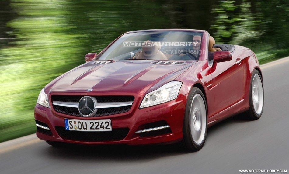 Mercedes-Benz SLK Новое поколение