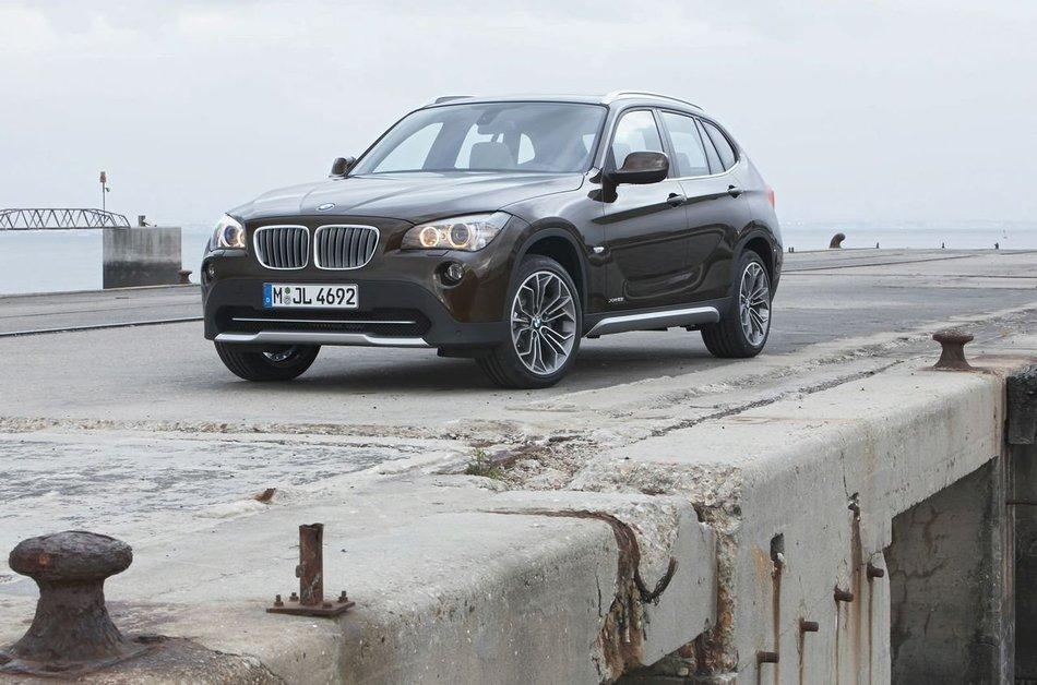 BMW X1: официально опубликовал снимки