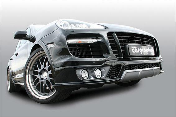 Porsche Cayenne: От тюнинг ателье Cargraphic