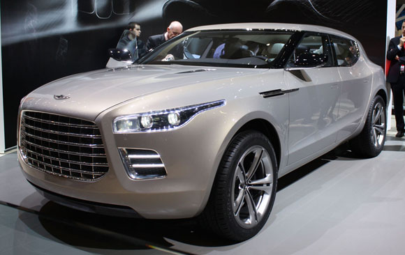Aston Martin и кроссовер Lagonda