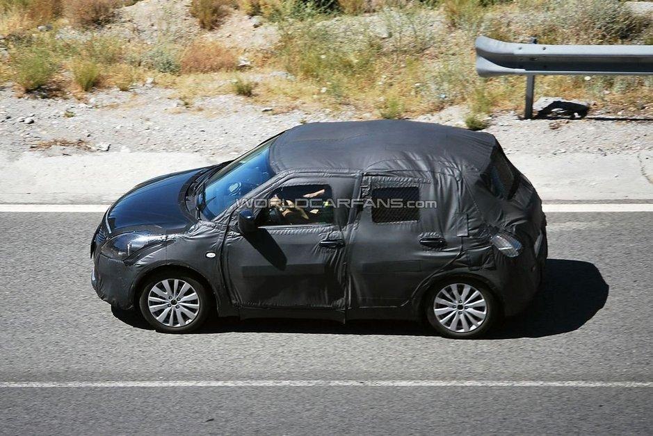 Suzuki Swift первые фото от папарацци