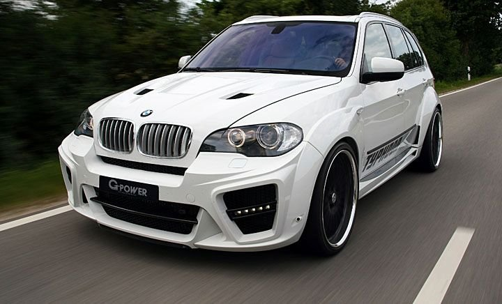 BMW X5 От ателье G-Power