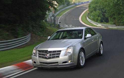 Cadillac CTS зеленый свет серийному автомобилю
