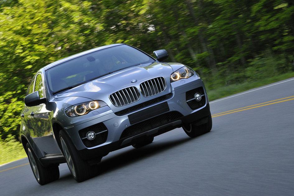 BMW X6 Hybrid о новом гибридном автомобиле ActiveHybrid
