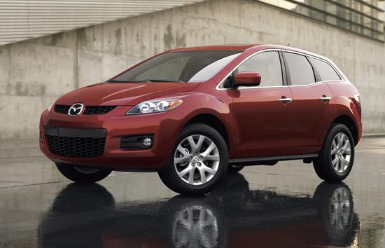 Mazda CX-7 обновленный вариант кроссовера