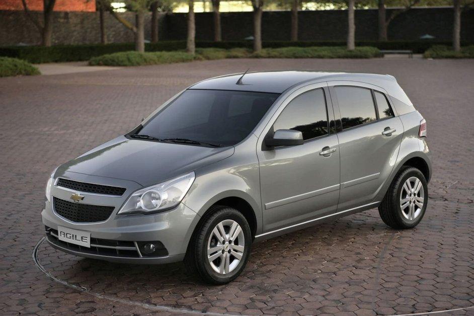 Chevrolet Agile официальное фото