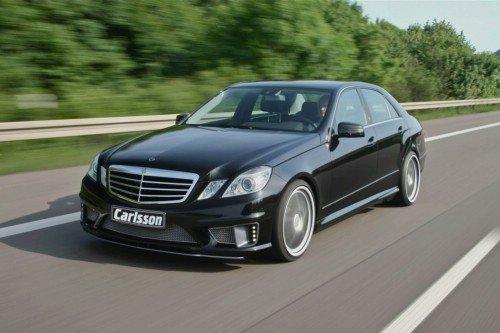 Mercedes-Benz E 63 AMG или тюнинг-ателье Carlsson