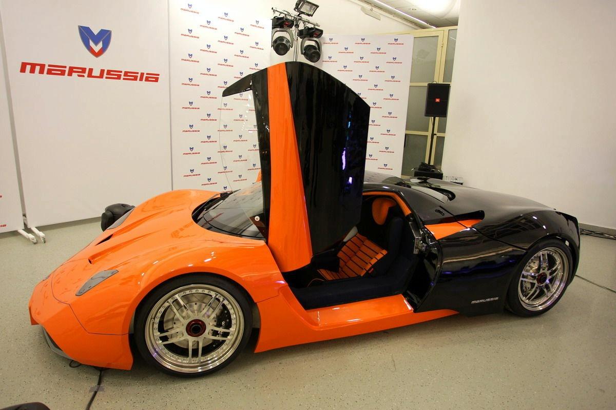 Marussia суперкар российской разработки