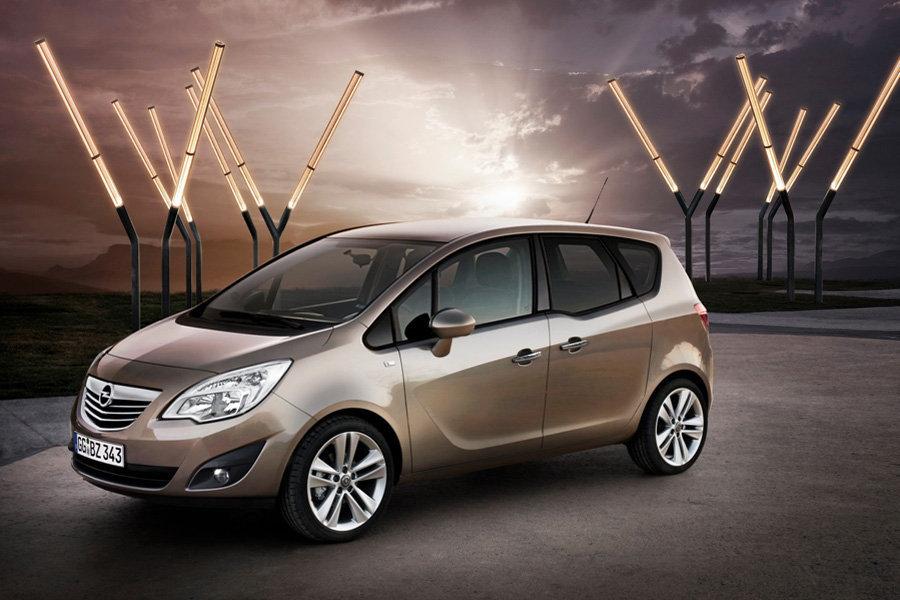 Новое поколение Opel Meriva
