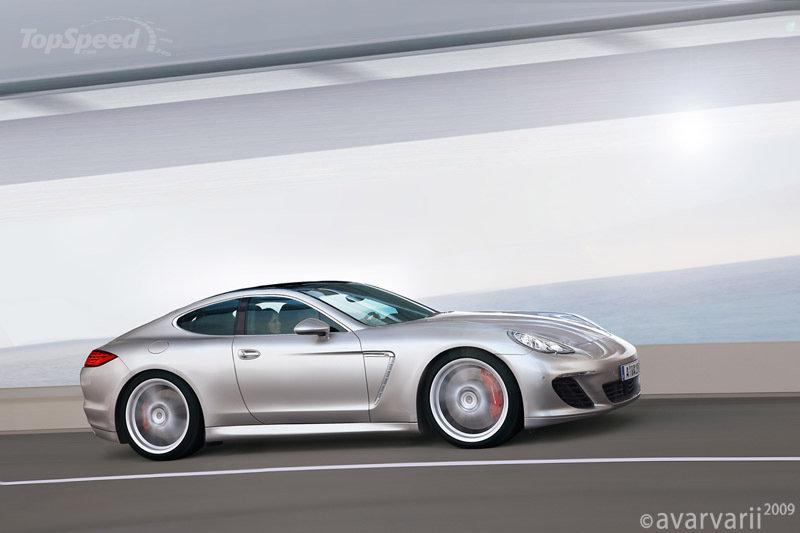 Porsche Panamera без задних дверей