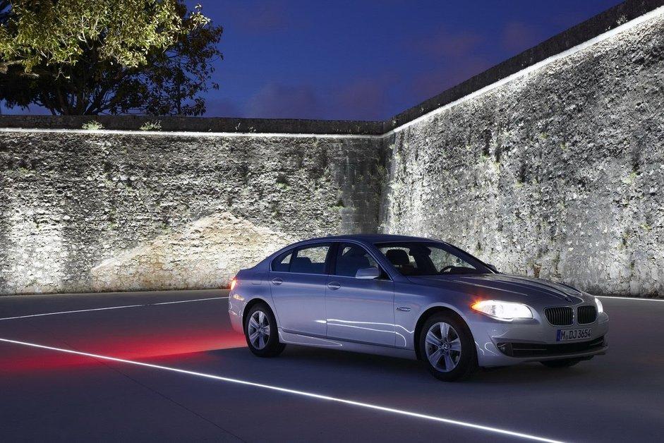 BMW 5-й серии первые снимки