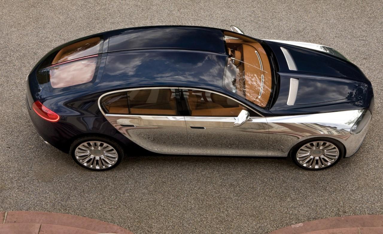 Bugatti четырехдверное купе 16C Galibier
