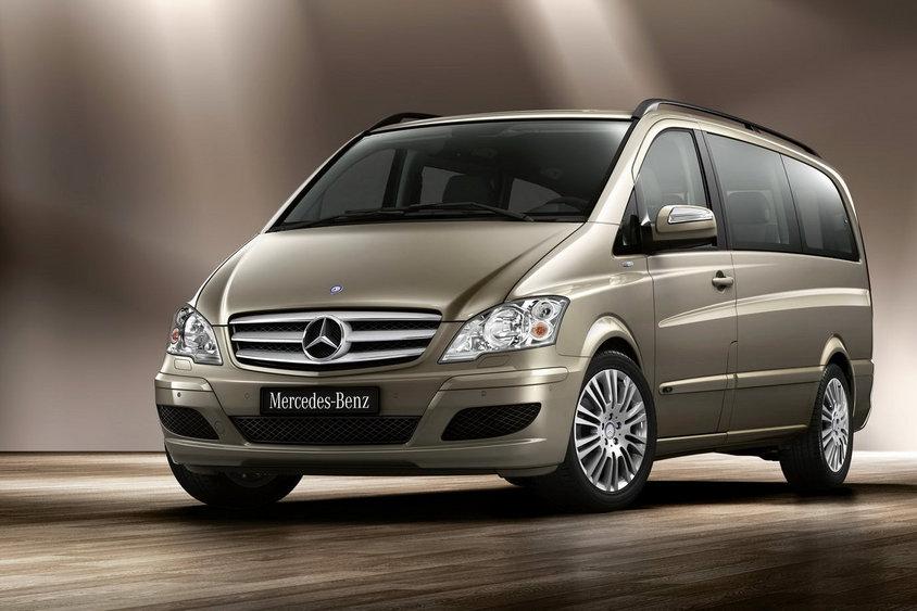 Свежая внешность Mercedes-Benz Viano и Vito