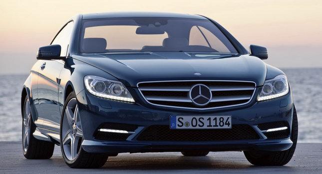 Премьера рестайлингового купе Mercedes-Benz CL