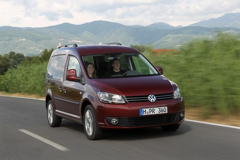 Новый Volkswagen Caddy в Польше