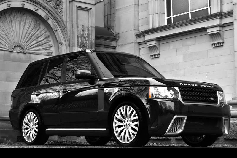 Range Rover против Audi Q7 TDI W12