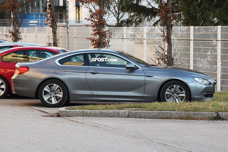 Новое купе BMW 6 серии от Папарацци