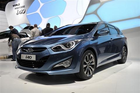 Мировая презентация модели Hyundai i40