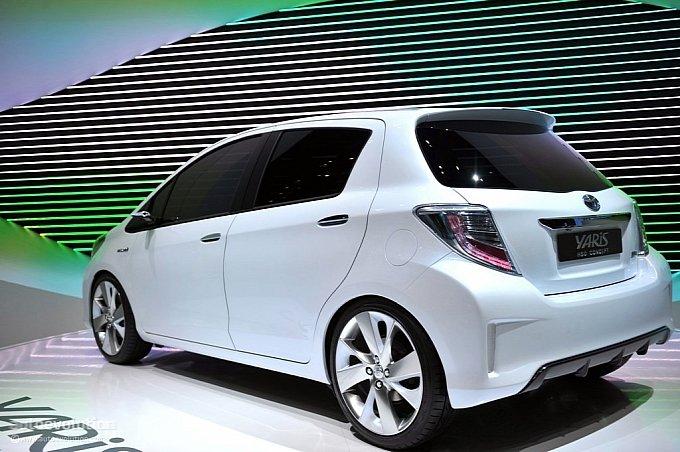 Женева-2011: Гибридные технологии у Toyota Yaris