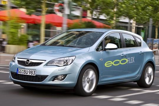 Новая модификация Opel Astra c пакетом ecoFLEX