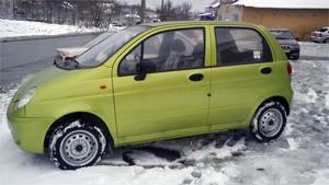 Выбор зимних шин на Daewoo Matiz