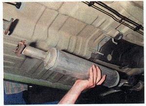 Меняем глушитель в Daewoo Matiz