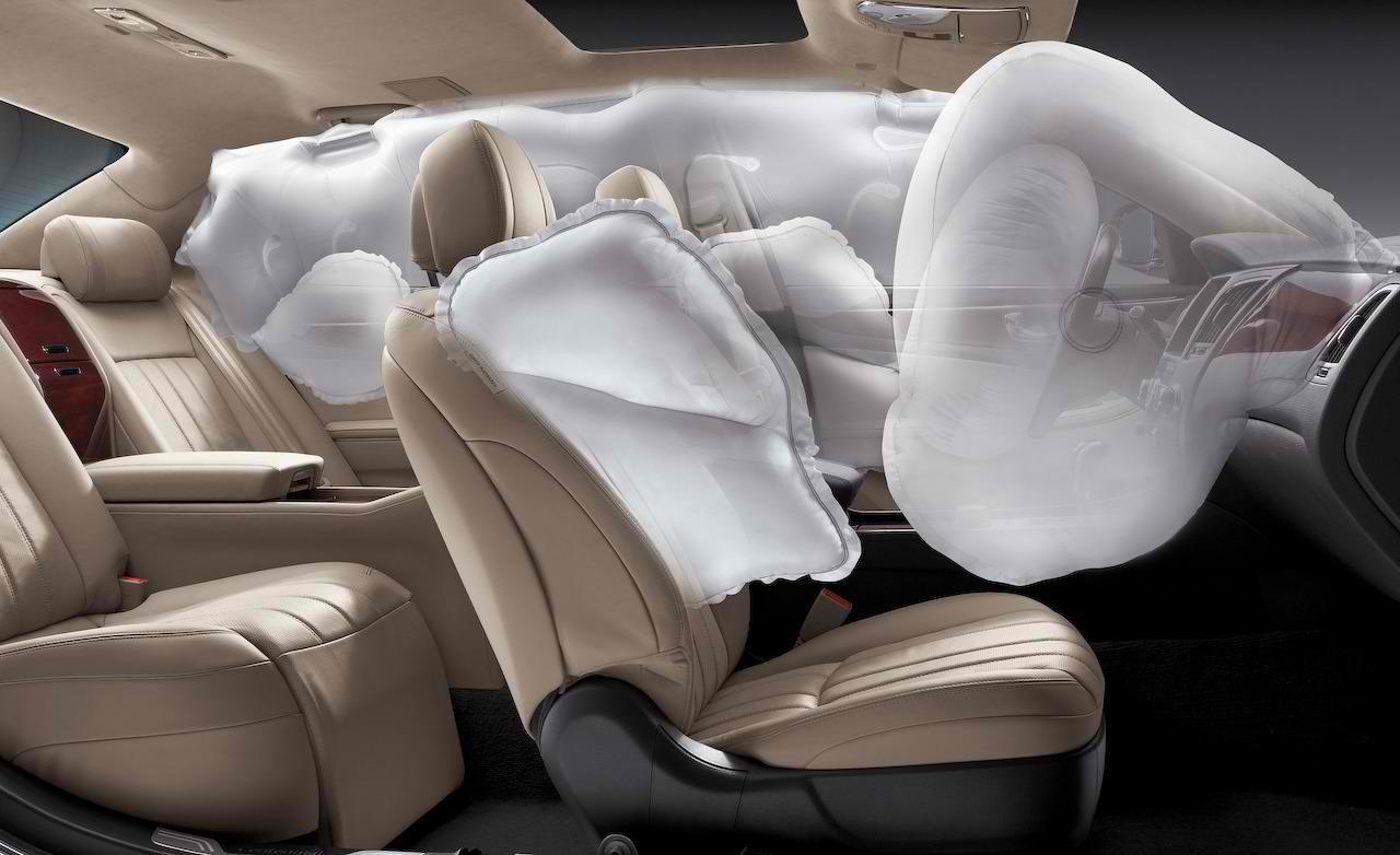 Airbag - элемент пассивной безопасности в авто